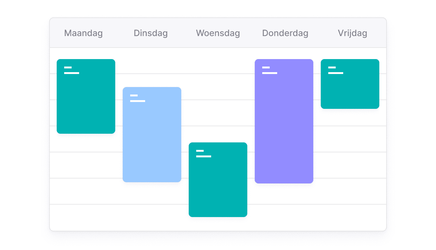 BE NL Afspraken taken en telefoontjes in één gedeelde kalender