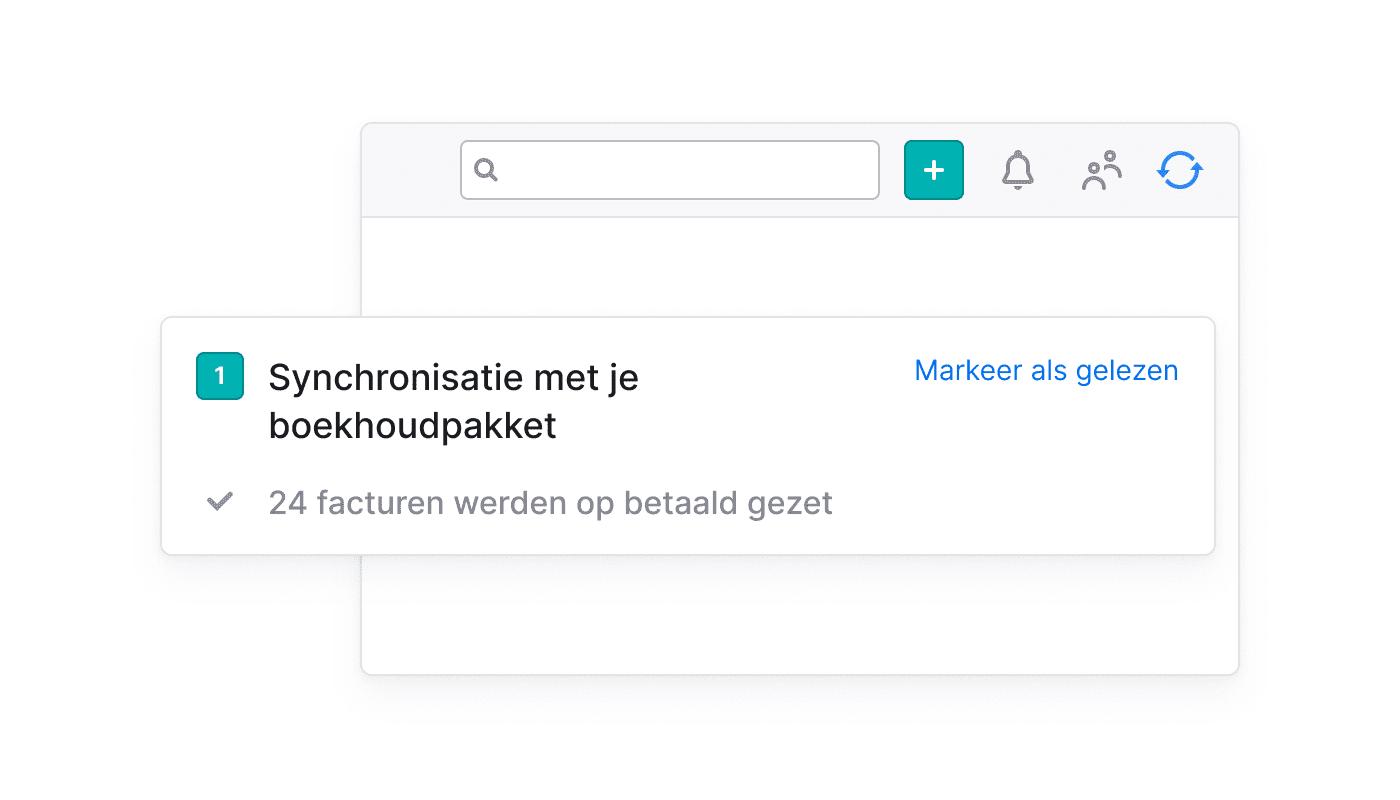 BE NL Koppel met je boekhoudpakket