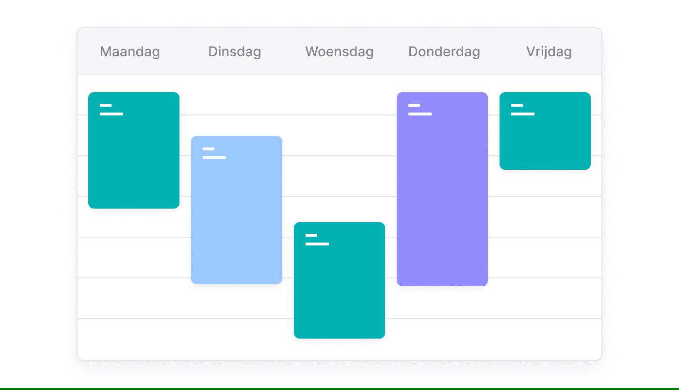 NL NL Afspraken taken en telefoontjes in één gedeelde kalender