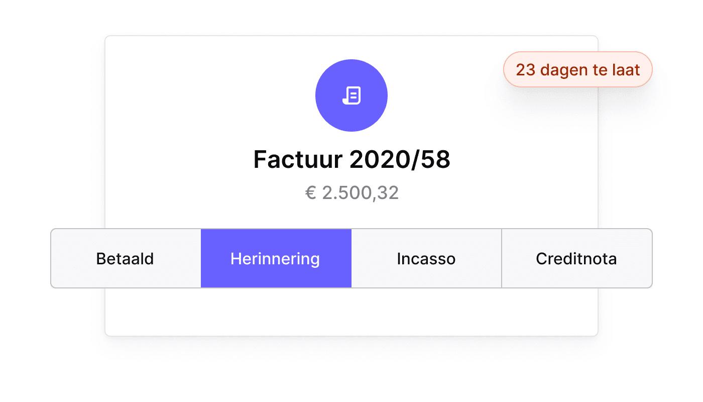 NL NL Betaalherinneringen