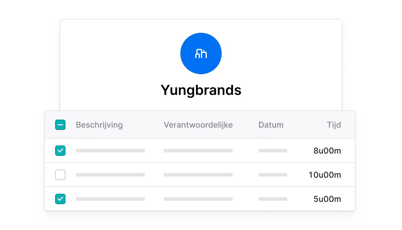 NL NL Factuureerbare tijd per klant