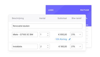 NL NL Builders Verstuur facturen in een handomdraai