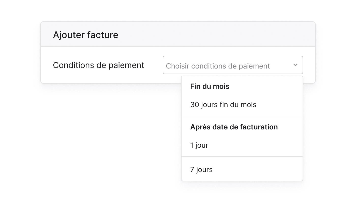 FR FR Uiteenlopende betalingstermijnen