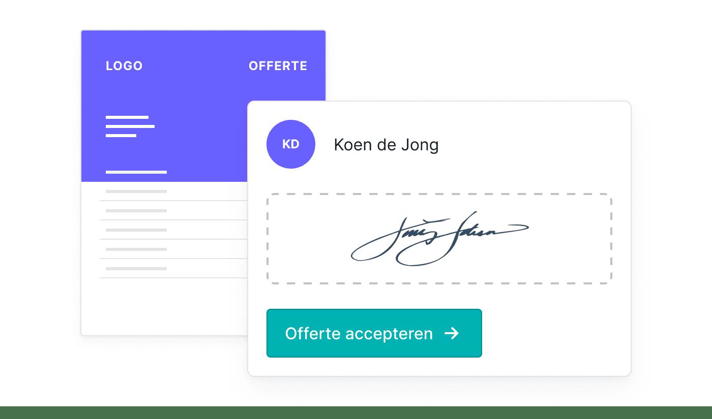 NL NL Offertes online laten ondertekenen