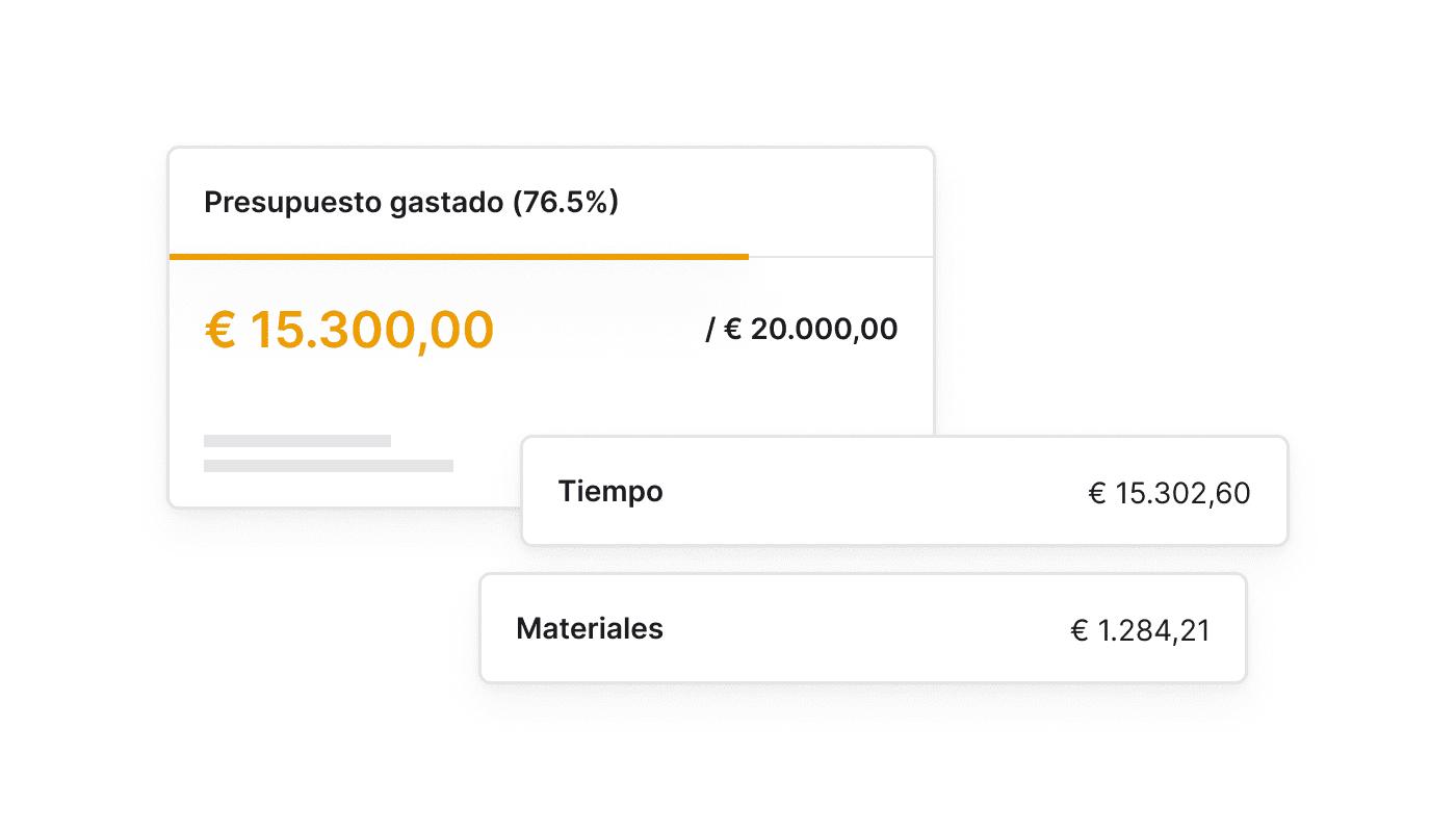 ES Blijf binnen budget