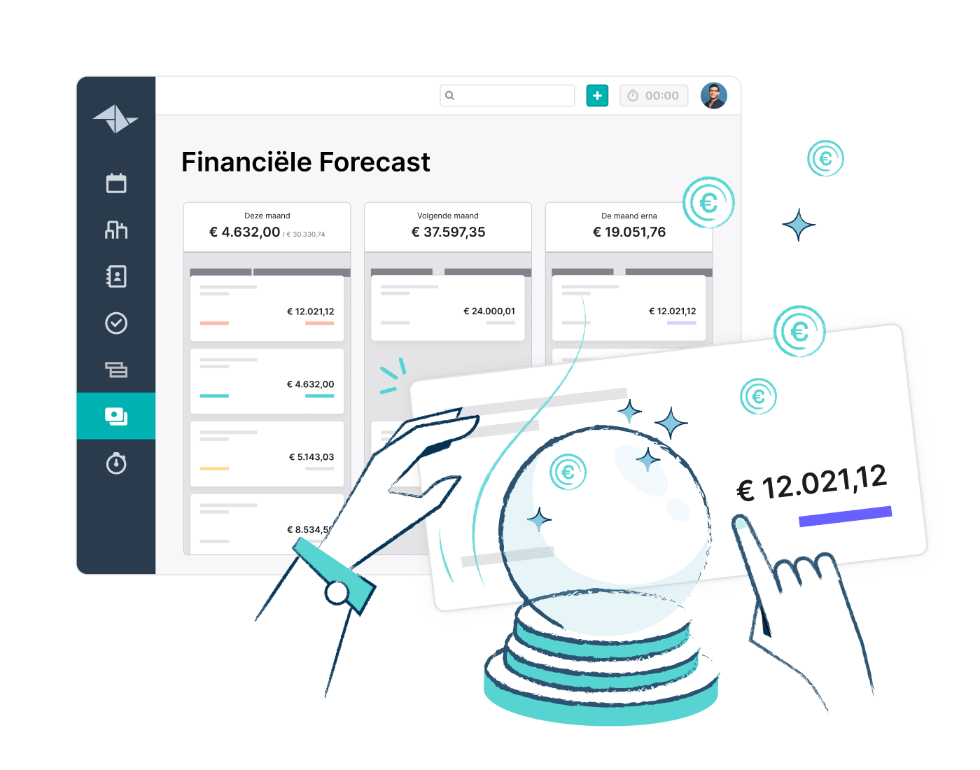 HQ Feature Page Financial Forecast Website Feature Block 700x550px BE NL