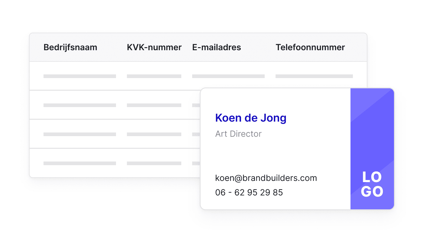 NL NL Eén plaats voor al je contacten